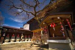 Святыня Hida Kokubunji в Takayama Стоковое Изображение