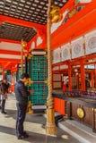 Святыня Ikuta-jinja в Кобе Стоковые Фотографии RF
