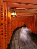 святыня inari fushimi Стоковые Изображения