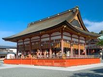 святыня inari fushimi Стоковое Изображение