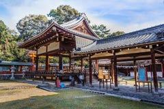Святыня jinja Himuro в Nara стоковое фото