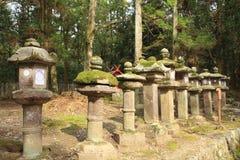 Святыня Kasuga Taisha, Nara, Япония Стоковое Изображение RF