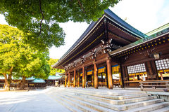 Святыня Meiji в токио, Японии Стоковые Фотографии RF