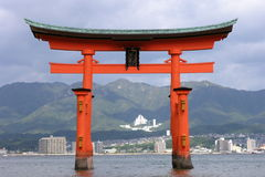 святыня miyajima itsukushima Стоковое Фото
