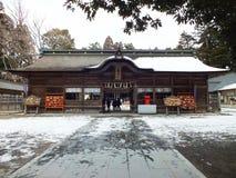 Святыня Osaki Hachimangu в Sendai Стоковые Фото
