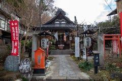 Святыня Sakurayama Hachimangu в Takayama Японии стоковое фото