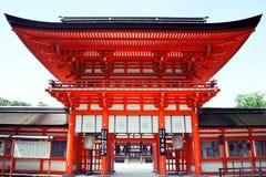 святыня shimogamo Стоковые Фотографии RF