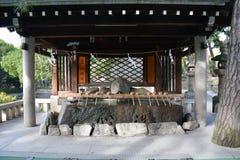 Святыня Sumiyoshi Taisha, Осака Стоковая Фотография RF