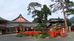 Святыня Taikodani Inari в Tsuwano Стоковое Фото