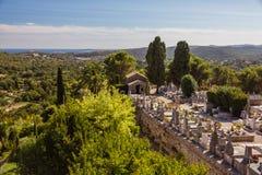 Свят-Пол-de-Vence взгляд (Франция) стоковое фото rf