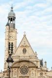 Свят-Etienne-du-Mont, Париж, Франция Стоковое фото RF