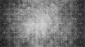 Священная геометрия в форме картины цветка Стоковое Изображение RF