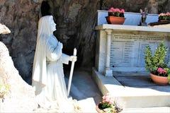 Священная Голгофа держателя Domodossola Стоковое Изображение RF