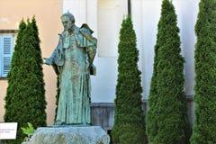 Священная Голгофа держателя Domodossola Стоковая Фотография