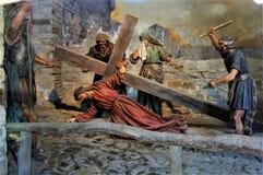 Священная Голгофа держателя Domodossola Стоковое фото RF