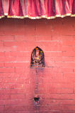 Священная красная стена Стоковые Изображения