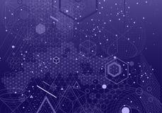 Священная предпосылка символов и элементов геометрии Стоковые Фотографии RF