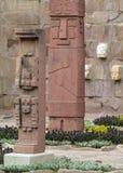 Священная статуя идола от Tiwanaku Стоковое Изображение