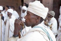 Священники, Lalibela Стоковые Изображения RF