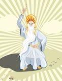 священник друида Иллюстрация штока
