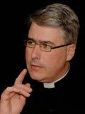 священник заботливый стоковое фото rf