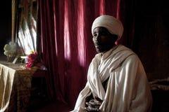 Священник, Lalibela Стоковое фото RF