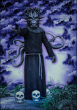 Священник Nyarlathotep Стоковые Изображения RF