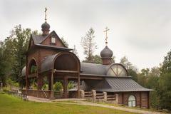 Священные весна и баня на монастыре Savvino-Storozhevsky. Стоковое Фото