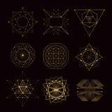 Священные формы геометрии Стоковые Изображения RF