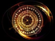 Священный взрыв геометрии Стоковые Фотографии RF