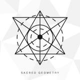Священный знак геометрии Стоковая Фотография