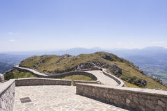 Священный путь Viggiano Стоковое Изображение RF