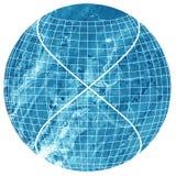 Священный символ геометрии на красочном backgroun циркуляра акварели Стоковые Изображения RF