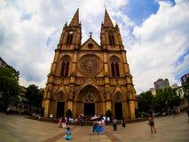 Священный собор сердца в Гуанчжоу, Китае Стоковое Изображение
