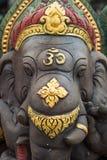 Священный слон в виске буддизма Стоковое Изображение