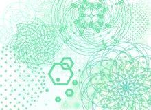 Священный фон геометрии Стоковая Фотография RF