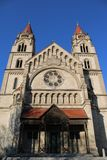 Св. Франциск Св. Франциск церков Assisi стоковое изображение rf
