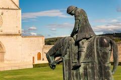 Св. Франциск Св. Франциск церков Assisi Стоковые Фотографии RF