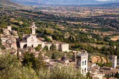 Св. Франциск Св. Франциск церков Assisi стоковые изображения rf