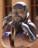 Св. Франциск Св. Франциск Assisi на El Santuario de Chimayo стоковое фото rf