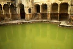 сгабривает ванны римские Стоковое Изображение
