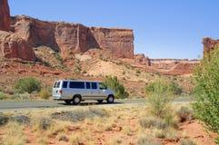 сгабривает день солнечные США Юту каньона стоковые изображения