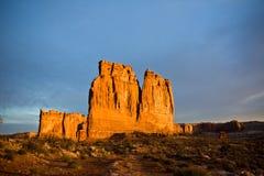 сгабривает национальный парк органа стоковая фотография