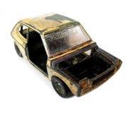 сгорели автомобиль Стоковое фото RF