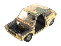 сгорели автомобиль Стоковые Изображения