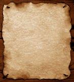 сгорели бумага краев старая Стоковое Изображение RF