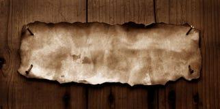 сгорели бумага краев старая Стоковое Фото