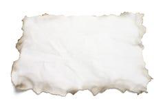 сгорели бумага краев Стоковые Фото