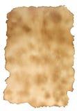 сгорели бумага Стоковые Изображения