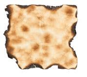 сгорели бумажный сбор винограда Стоковое Изображение
